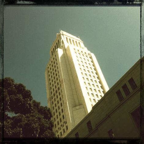 City Hall Tower. DTLA
